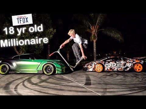 "MEET ""TANNER FOX"" & HIS 900 WHP LIBERTY WALK GTR! *SELF MADE MILLIONAIRE**"