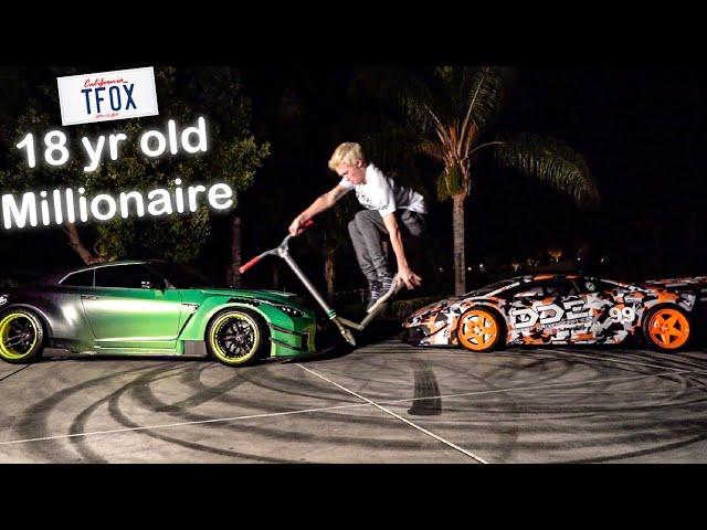 MEET TANNER FOX & HIS 900 WHP LIBERTY WALK GTR! *SELF MADE MILLIONAIRE**