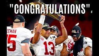 Alabama Official Football Highlights 2017-18  Congratulations  CFB National Champions 2018