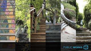 Take a tour of San Francisco's public staircases - EP. 0035
