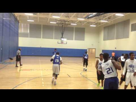 DeAndre Meadow Woods Recreation Center Basketball Game