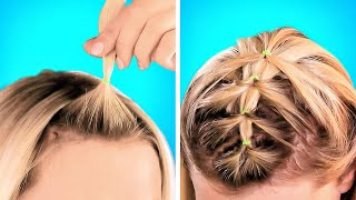 Cool Hairstyle Ideas You Can Repeat In 1 Minute    Unusual Hair Transformations