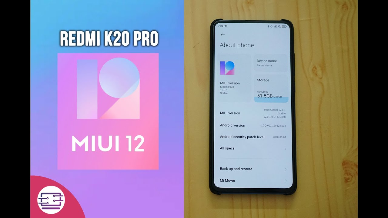 MIUI 12 for Redmi K20 Pro- Download Now [New Features]