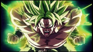 Secret Fighting Style of Broly - Dragon Ball Super Movie