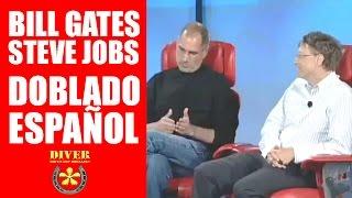 Bill Gates y Steve Jobs Doblado en Español / Entrevista de Negocios #1 diverdocus doblajes
