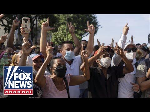 Cuban cities hold 'unprecedented' demonstrations against the communist regime