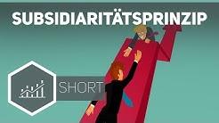 Subsidiaritätsprinzip – Grundbegriffe der Wirtschaft ● Gehe auf SIMPLECLUB.DE/GO