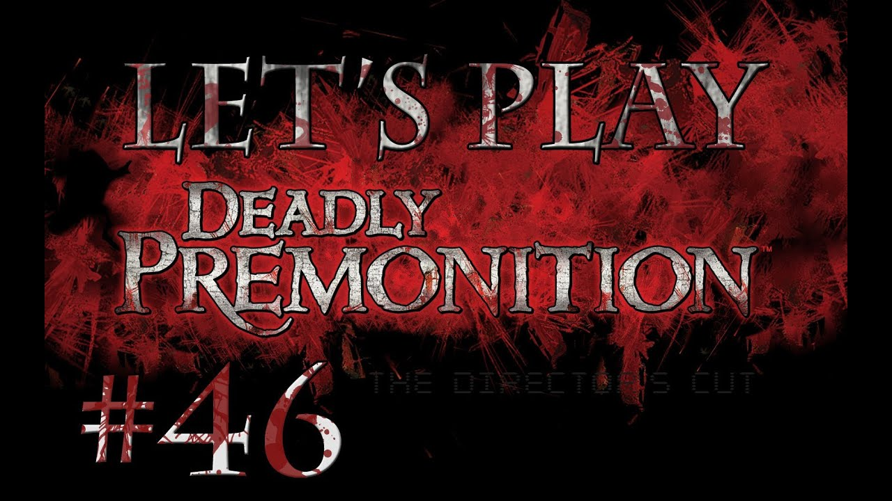 Let's Play Deadly Premonition (part 46 - George The Troll [blind])