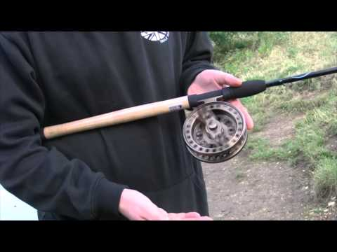 Tackle fanatics tv okuma aventa vt1002 centre pin reel for Center pin fishing