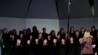 """Haines Concert Choir singing """"Of Thee I Sing - America"""" in competititon on 3-13-09"""