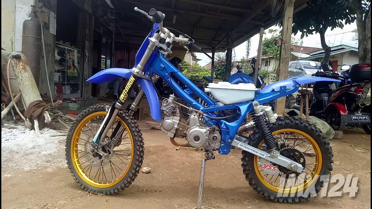 95 Modifikasi Motor Honda Supra X 125 Jadi Trail Terkeren