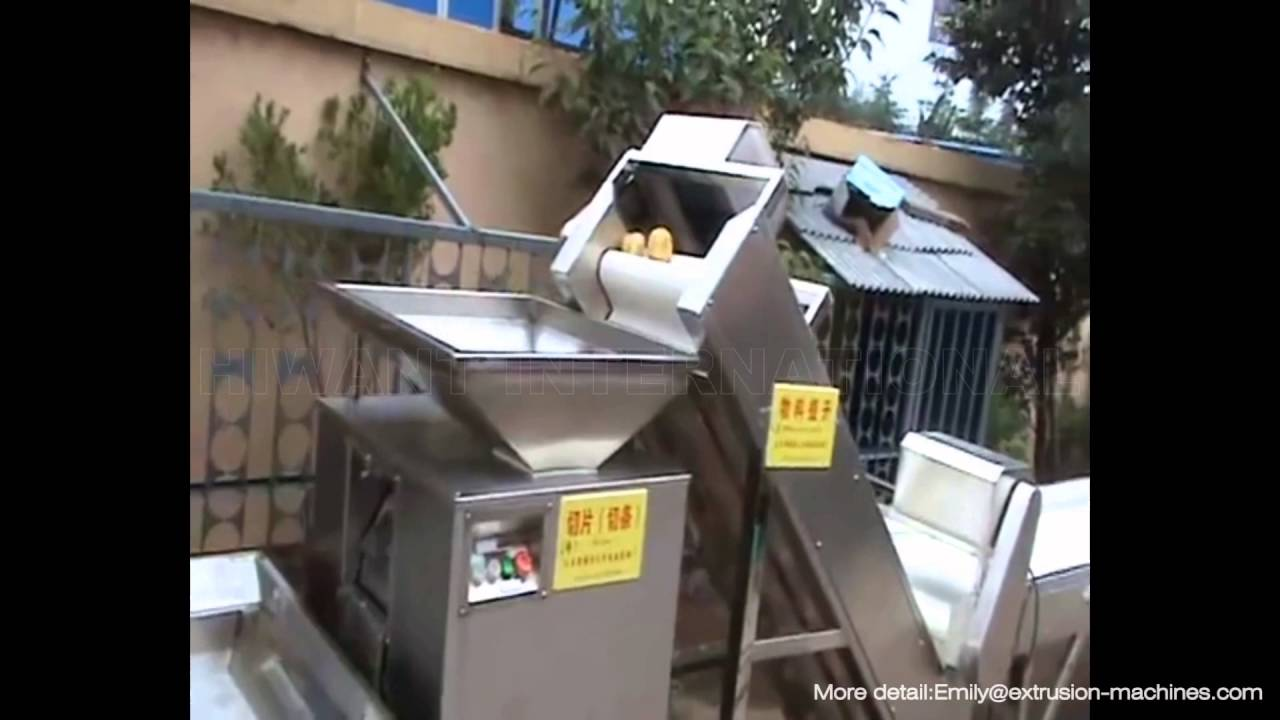 Potato Chips Making Machine For Commercial Purpose Offer