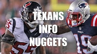 Houston Texans Info Nuggets Before AFC Playoff Game with Patriots