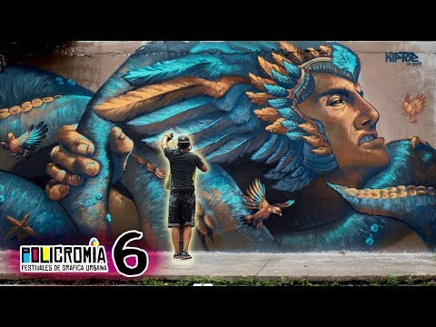 """RISK"" Badass Mural in Cali - Policromia Tour (EP06)"