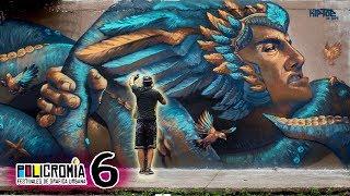 """RISK"" Badass Mural in Cali - Policromia Tour (EP06)"