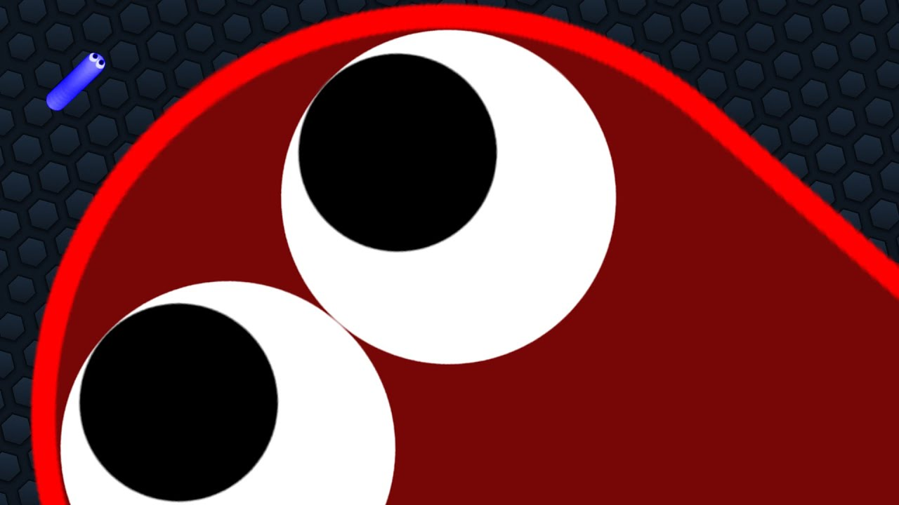 Slither.io 1 Giant Snake vs Tiny Snakes Epic Slitherio Gameplay