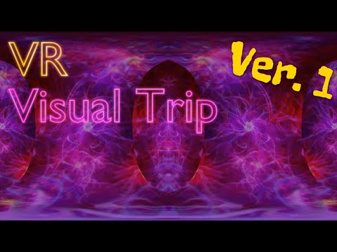 Virtual Reality DMT Visual Trip- Enter the Void ver.1