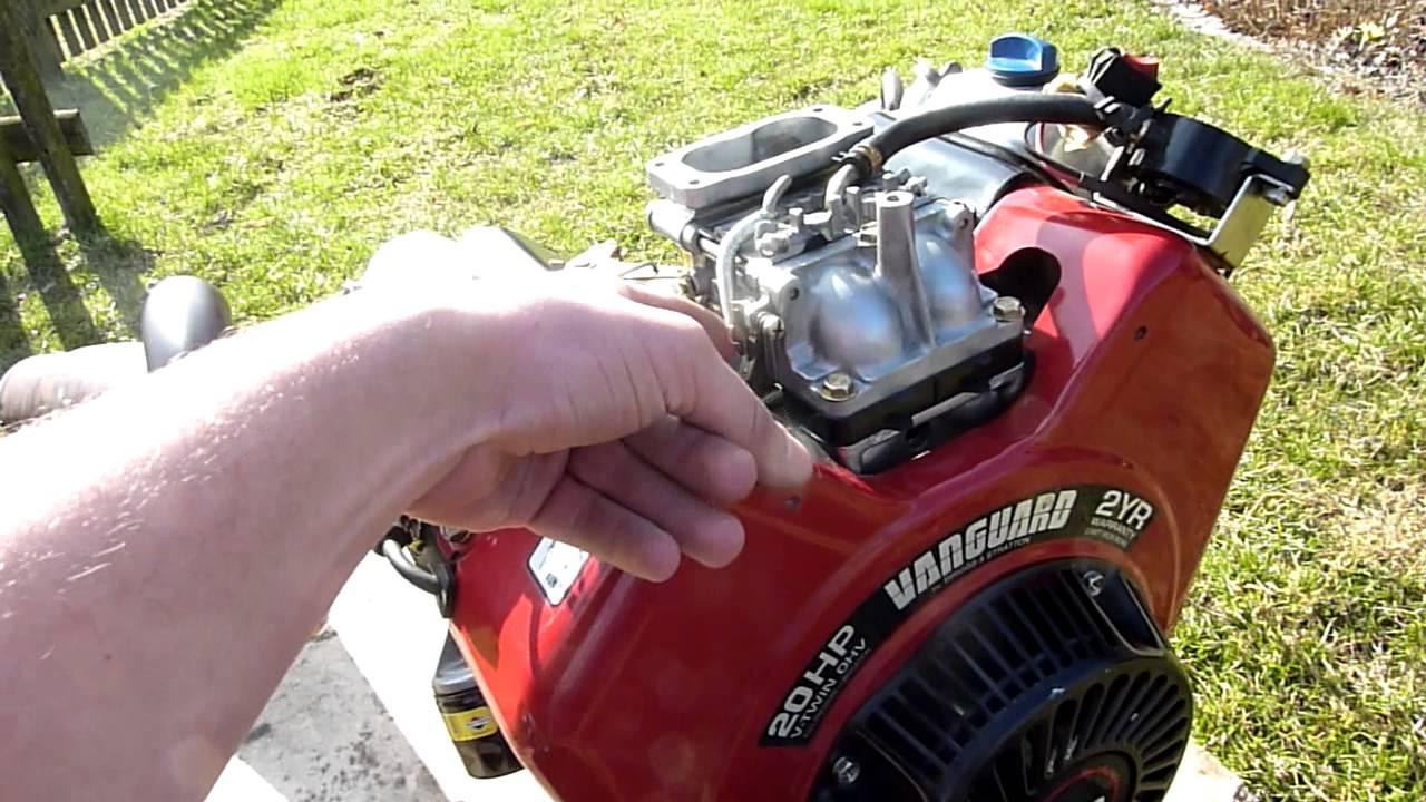 Briggs&Stratton Vanguard 570ccm 20HP V Twin Race Kart