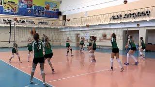 Волейбол обучение. Девушки. Тренировка. Часть 3
