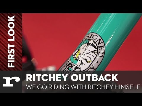 Ritchey Outback - We ride with Tom Ritchey himself