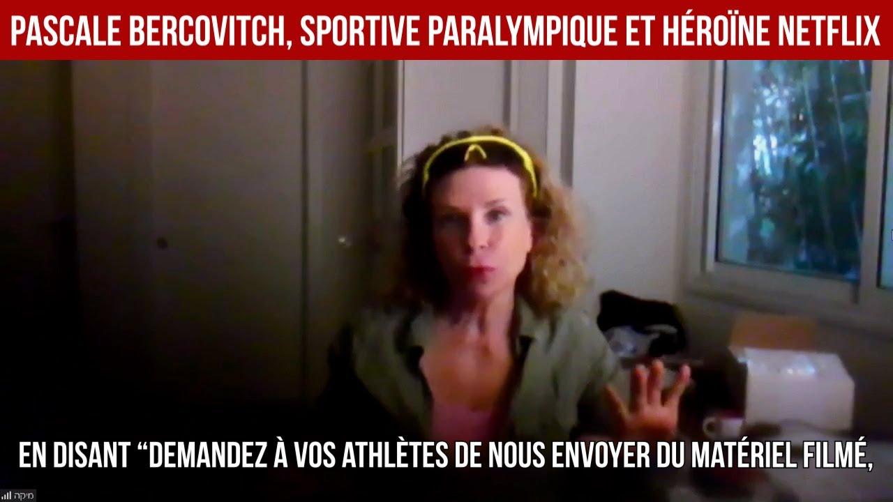 Pascale Bercovitch, sportive paralympique et héroïne Netflix - Actuculture#236
