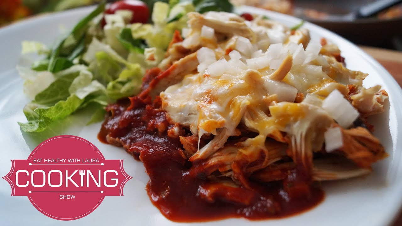 How To Make Chilaquiles Rojos  Mexican Food