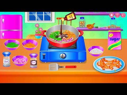 Belajar Masak Masakan Lucu Rakus Makan Permainan Anak Perempuan Game Memasak Youtube
