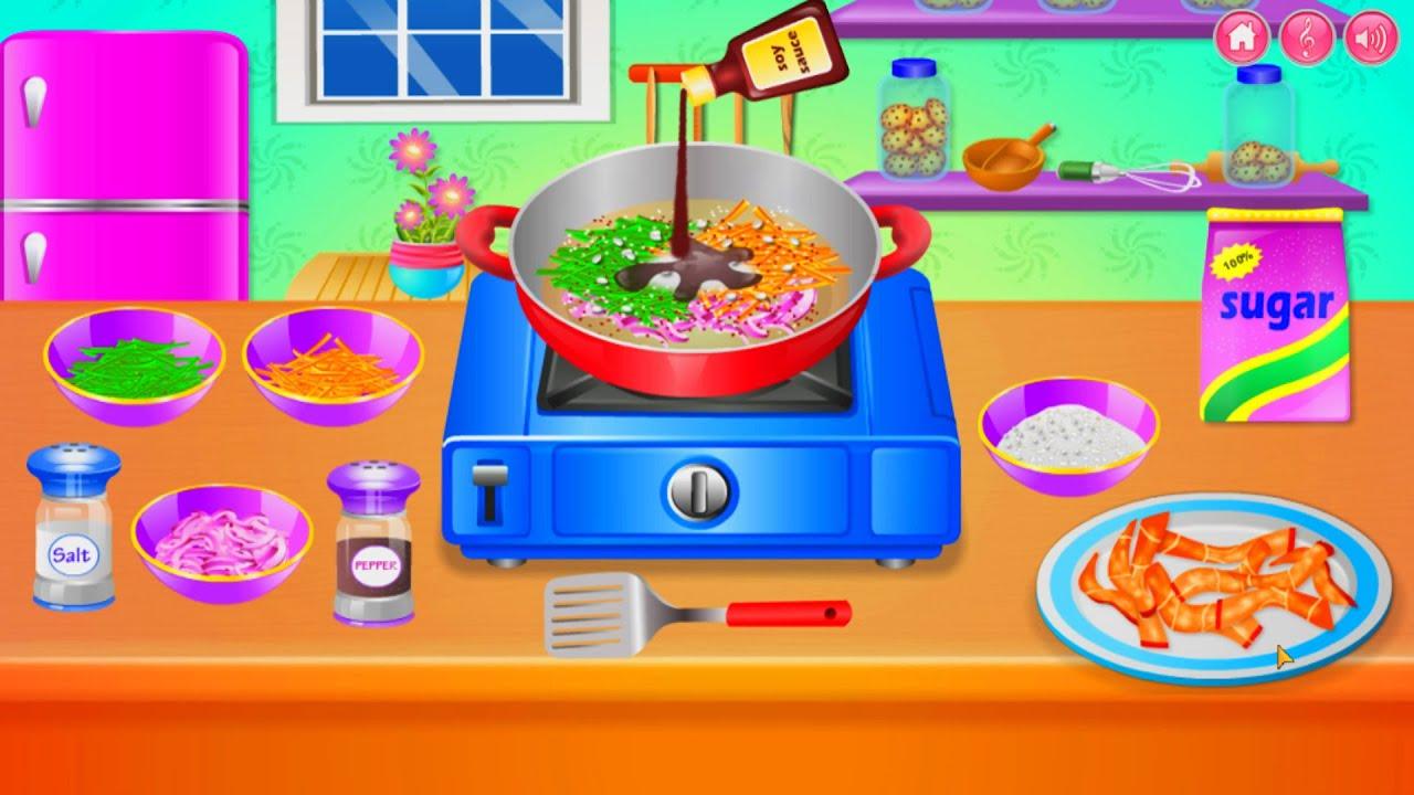 Girls Games Cooking Fun Cooking For Kids Fun Kitchen Permainan Masak Masakan Youtube