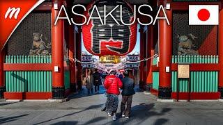 Walking from Asakusa Station t…