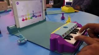 Play Shifu Plugo Learning Piano at CES 2020