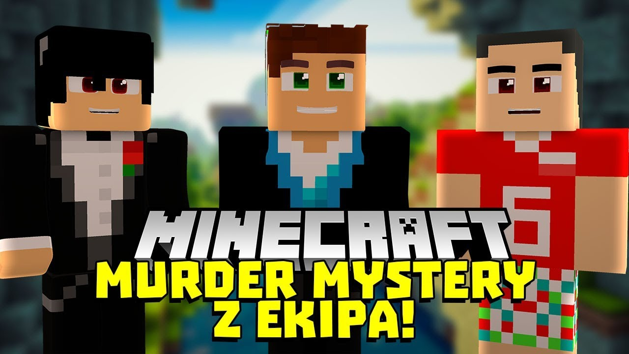NIE WYKRYLI MOJEGO TROLLA! EKIPA W MINECRAFT MURDER MYSTERY #24
