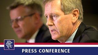 PRESS CONFERENCE | Dave King | 21 Jun 2017