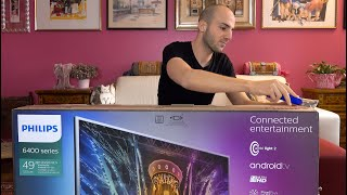 PHILIPS Ultra HD Android TV 4K • UNBOXING e SET UP