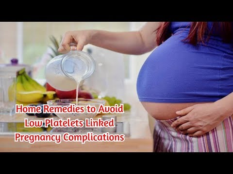 Home Remedies to Avoid Low Platelets Linked Pregnancy Complications