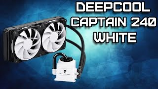 Deepcool Captain 240 White Обзор. Народная