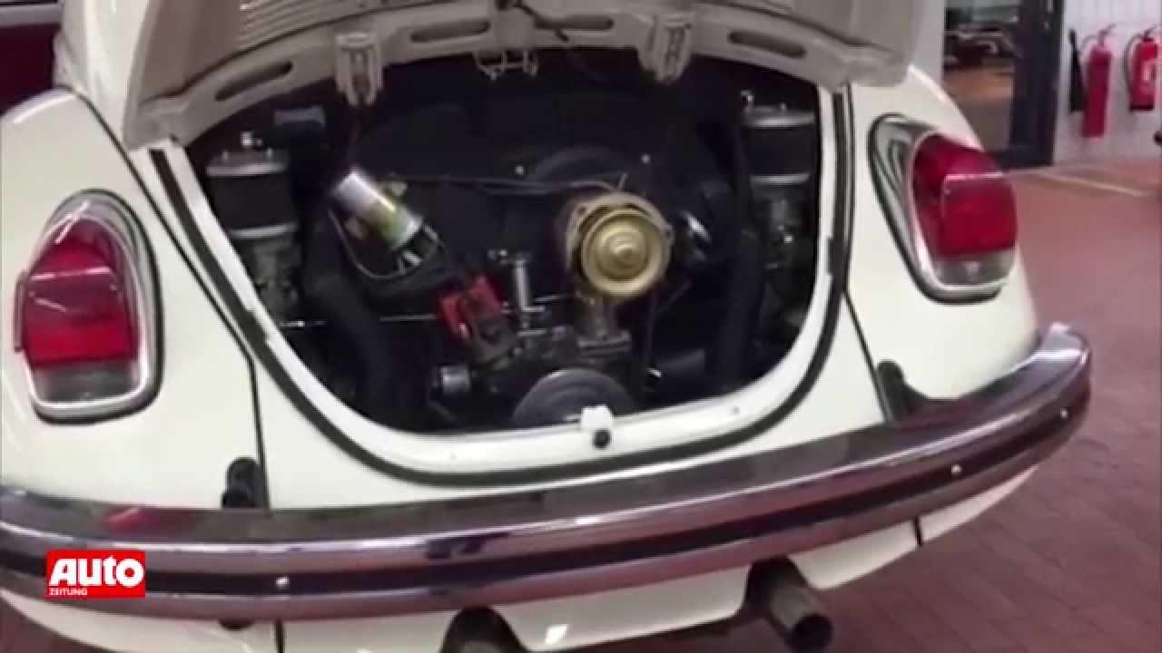 VW Käfer-Tuning - Decker bringt Sound - YouTube