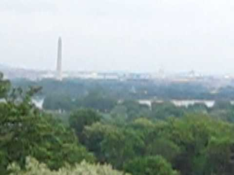 View of Washington DC from Arlington House