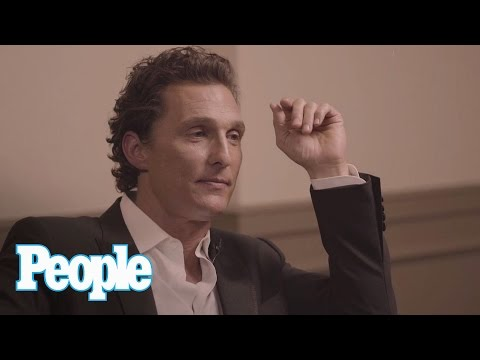 Thumbnail: Matthew McConaughey Says Fake Boobs Are Overrated & When He Feels Sexiest | People