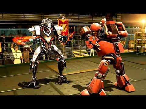REAL STEEL WRB Spectre VS Fat Boy & Aquabot & Six Shooter & Sarge