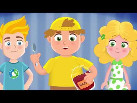 Мультик про Здоровье   Здоровый Образ Жизни  Обучающие мультфильмы для детей  Ca