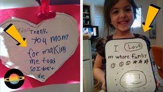10 brutalnie szczerych kartek walentynkowych od dzieci