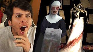 EL NUEVO RITUAL DE LA MONJA !! MÁS PUZZLES Y MISTERIOS - The Nun (Horror Game)