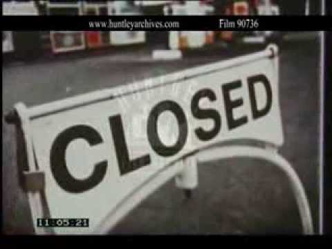 1973 fuel crisis affects British consumers.  Film 90736