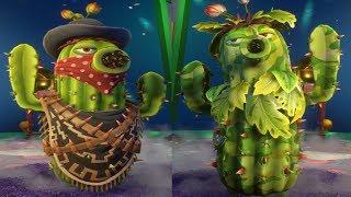 Растения против Зомби 2 Садовая Война - КАМО КАКТУС против КАКТУС БАНДИТ - Обзор