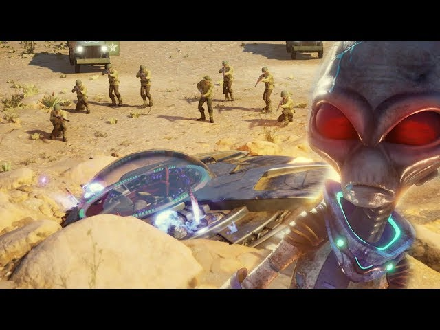 Die ALIENS sind GELANDET! - Destroy All Humans! Remake