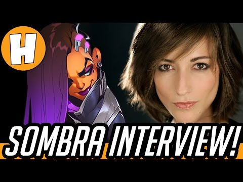 Overwatch Voice Actors - Carolina Ravassa (Sombra) Interview! | Hammeh
