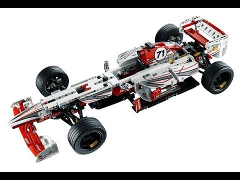 lego technic 4200 grand prix racer youtube. Black Bedroom Furniture Sets. Home Design Ideas
