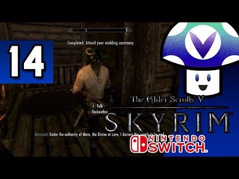 [Vinesauce] Vinny - The Elder Scrolls V: Skyrim [Switch] (part 14) + Art!