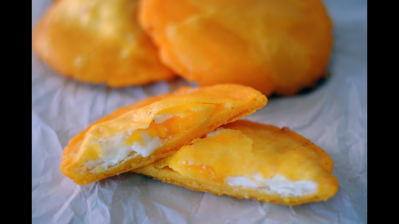 Arepa De Huevo Egg Stuffed Arepa Sweet Y Salado