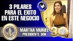 MARTHA MURIEL | 3 Pilares Para el Éxito en este Negocio